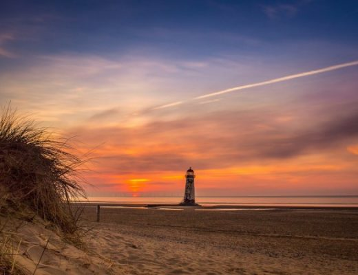 North Wales Borderland Talacre Beach: A Haven for Tourists